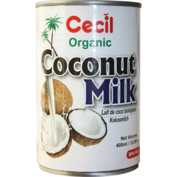 Photo of Cecil Organic Coconut Milk 400ml