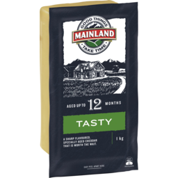 Photo of Mainland Tasty Cheddar Cheese 1kg