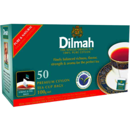 Photo of Dilmah Premium Teabags 50 Bags