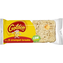 Photo of Golden Crumpet Breaks 6pk 425gm