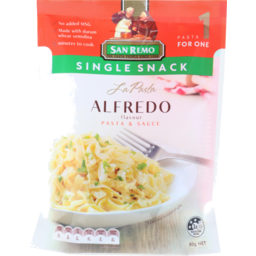 Photo of San Remo La Pasta Alfredo 80g