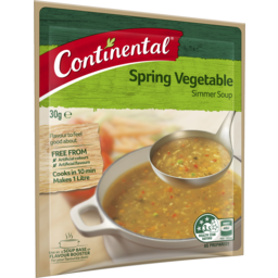 Photo of Continental Simmer Soup Spring Vegetable 30g