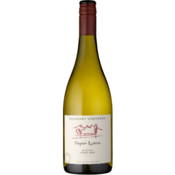 Photo of Boundary Vineyard Pinot Gris 750ml