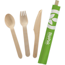Photo of Biopak Cutlery Set