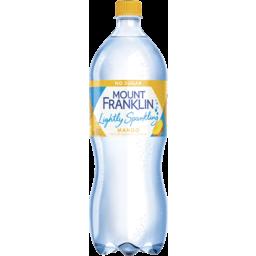 Photo of Mount Franklin Lightly Sparkling Water Mango Bottle 1.25l