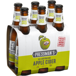 Photo of Pressmans Apple Cider Bottles