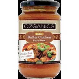 Photo of Ozganics Butter Chick Sce 500gm