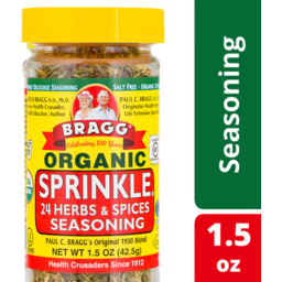Photo of Bragg Organic Sprinkle 24 Herbs & Spices Seasoning