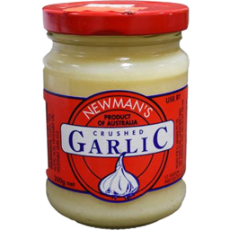 Photo of Newmans Garlic Crushed 250gm
