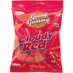 Photo of Going Gummy Cloudy Red 125gm