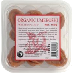 Photo of Spiral - Japanese - Umeboshi Plums - 150g