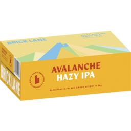 Photo of Brick Lane Avalanche Hazy IPA Can
