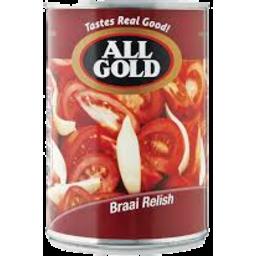 Photo of All Gold Braai Relish 410gm
