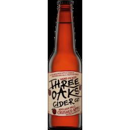 Photo of Three Oaks Original Cider Bottles