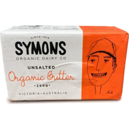 Photo of Symons Organic Dairy Co Butter - Unsalted (Australian)