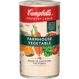 Photo of Campbell's Soup Country Ladle Farmhouse Vegetable 495g