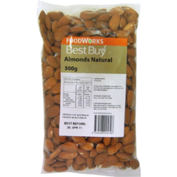 Photo of Best Buy Almonds Natural 500g