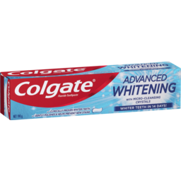 Photo of Colgate Advanced Whitening Fluoride Toothpaste With Micro Cleansing Crystals 190g