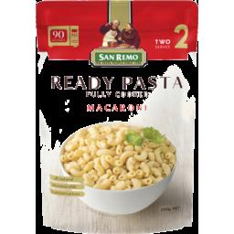 Photo of San Remo Ready Pasta Macaroni 250g