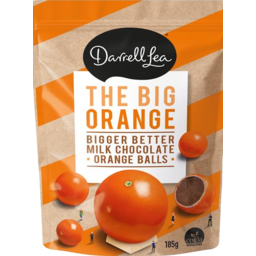 Photo of Darrell Lea The Big Orange Balls 185g