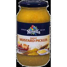 Photo of Rosella Sweet Mustard Pickles 500g