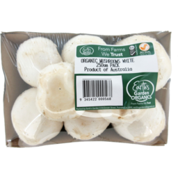 Photo of Earths Garden Organics Mushrooms 250g