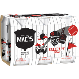 Photo of Macs Ballpark Beer Extra Pale Ale 6 Pack