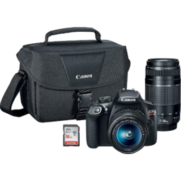 Photo of Canon Rebel T6 With Lens & Bag