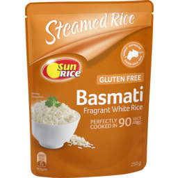 Photo of Sunrice In 90 Seconds Microwave Basmati Rice 250g 250g