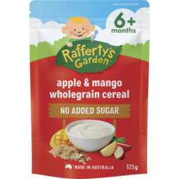 Photo of Rafferty's Garden Apple & Mango Wholegrain Cereal 125g