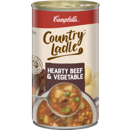 Photo of Campbell's Country Ladle Soup Beef & Vegetables 500g