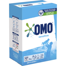 Photo of Omo Sensitive Laundry Detergent Washing Powder Front & Top Loader 5 Kg
