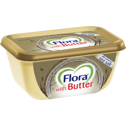 Photo of Flora With Butter Spreadable Butter Blend 400g
