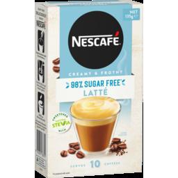 Photo of Nescafe Coffee Mixes 98% Sugar Free Latte 13.5g 10pk