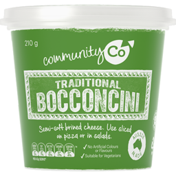 Photo of Community Co Traditional Bocconcini 210gm