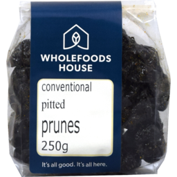 Photo of Wholefoods House Dried Prunes Pitted Conventional 250g