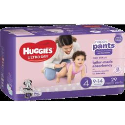 Photo of Huggies Nappy Pants Toddler Girl 29s
