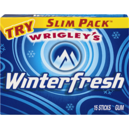Photo of Wrigley's Winterfrsh Slim Pack
