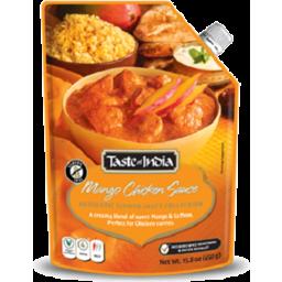 Photo of Taste of India Mango Chicken Simmer Sauce 425g