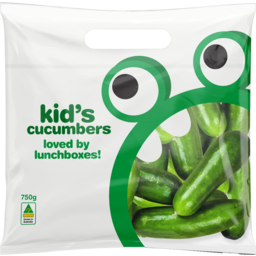 Photo of Loved By Lunchboxes Kids Cucumbers 750g