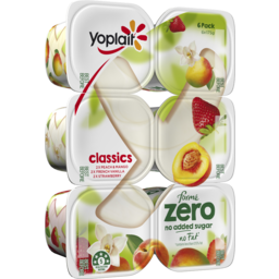 Photo of Yoplait Forme Zero Classics 6x175gm