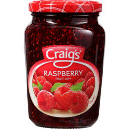 Photo of Craig's Jam Raspberry 375g