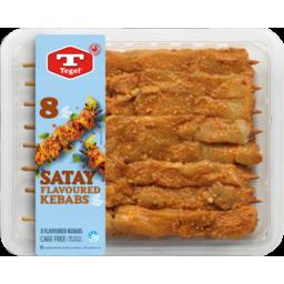 Photo of Tegel Kebabs Satay 8 Pack