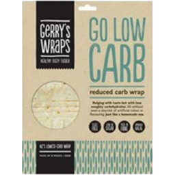 Photo of Wraps Gerrys Low Carb 258g