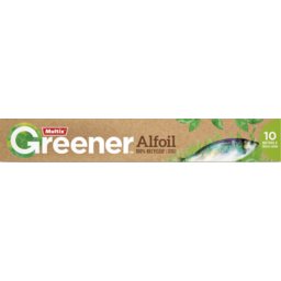 Photo of Multix Greener 100% Recycled Alfoil 10m X 30cm
