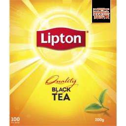 Photo of Lipton TeaBag Black Tea Quality 100s