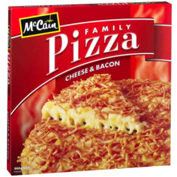 Photo of Mccain Family Pizza Cheese And Bacon 500gm