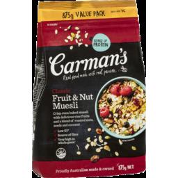 Photo of Carman's Classic Fruit & Nut Muesli 875g