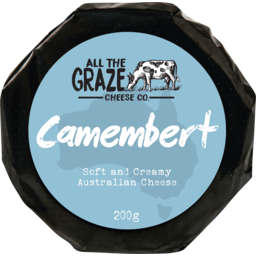 Photo of All The Graze Camembert 200gm