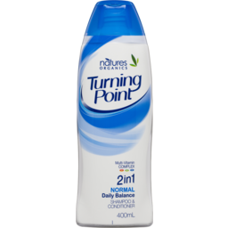 Photo of Natures Organics Turning Point Normal 400ml